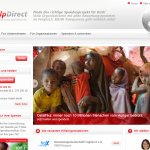 Screenshot von HelpDirect.de (08.03.2013)