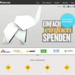 Screenshot von elefunds (09.03.2013)
