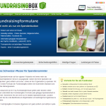 Screenshot von fundraisingbox spendenbarometer (09.03.2013)
