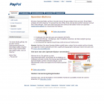 Screenshot von paypal spendenbutton (09.03.2013)