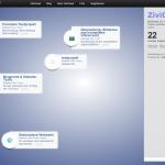 Screenshot von zivicloud (09.03.2013)