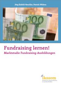 Cover der Marktstudie Fundraising-Ausbildungen von ikosom