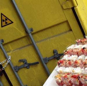 Businessfrühstück radioaktiv