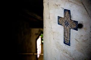 Die Sache mit dem Kreuz. (CC BY-ND Maik Meid)