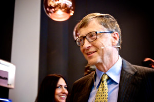 Bill Gates im Base Camp