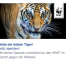 A/B-Motive bei Facebook Spenden-Kampagne des WWF