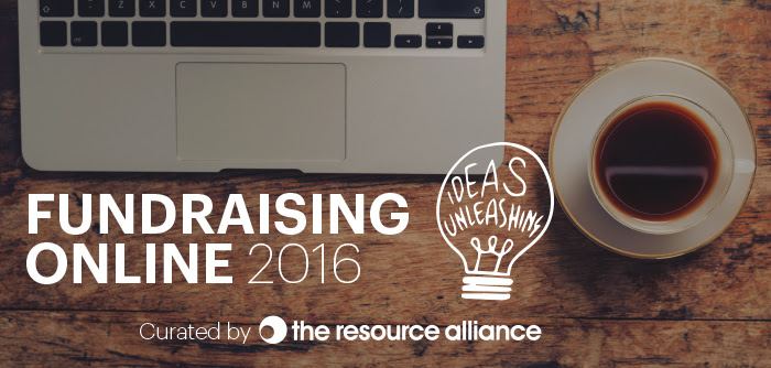 Banner Fundraising Online 2016 Konferenz