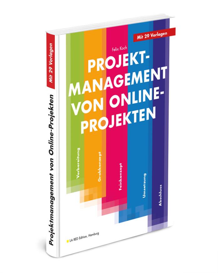 """Buchcover """"Projektmanagement von Online-Projekten"""" von Felix Koch"""