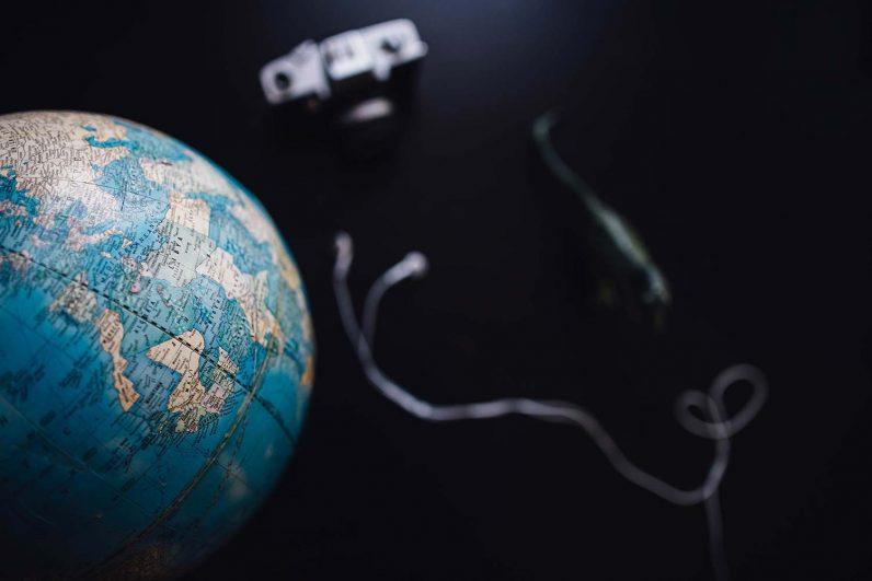 Kamera und die Welt