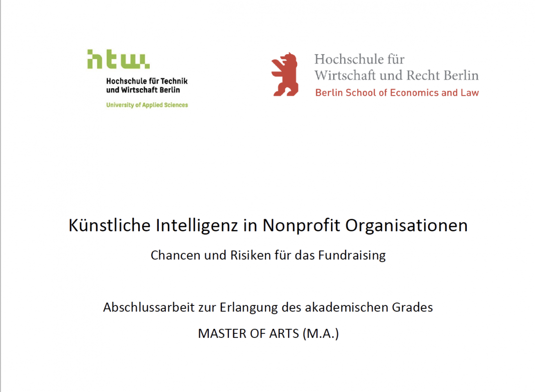 Künstliche Intelligenz (KI) für Nonprofit Organisationen