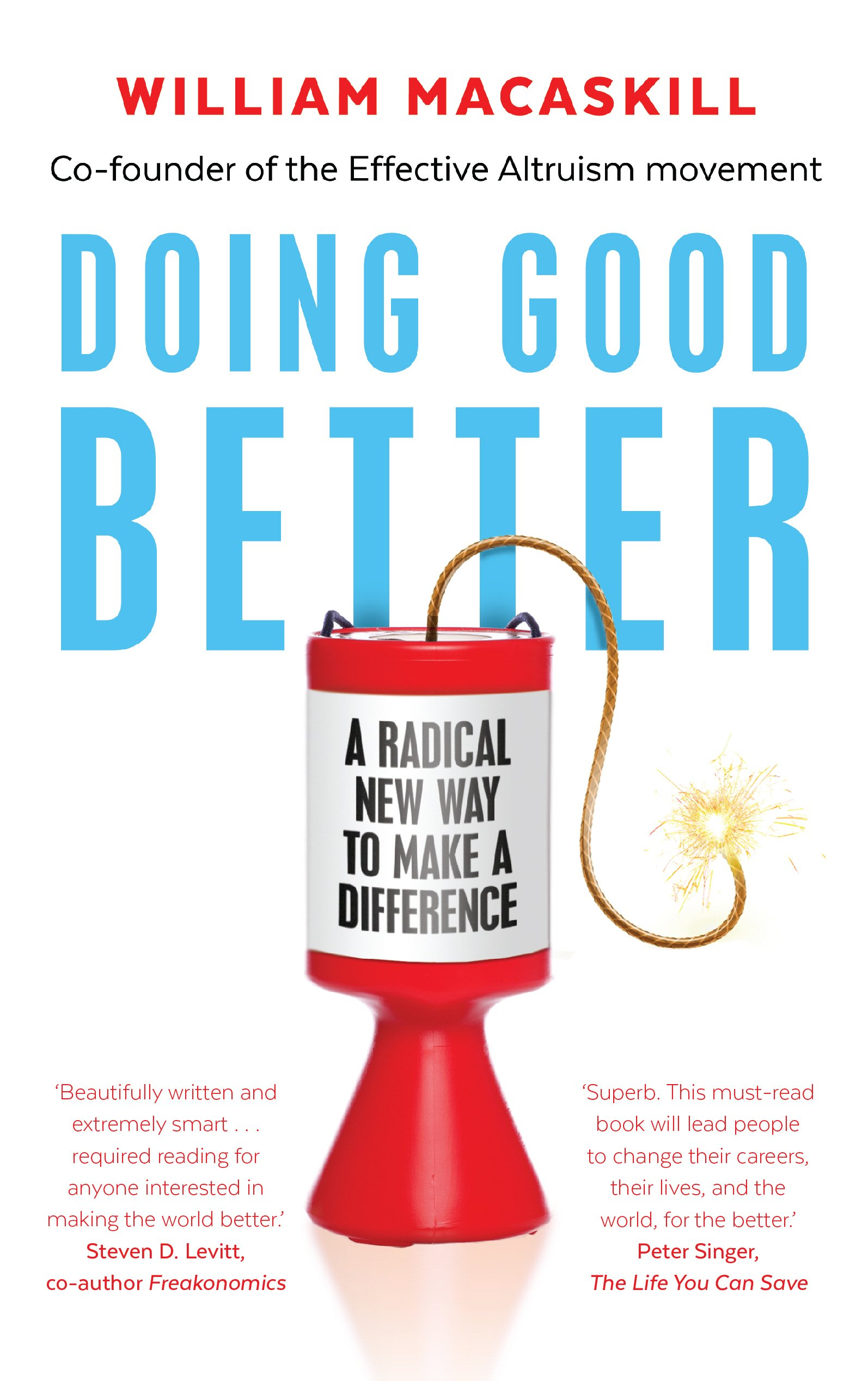 Cover von Doing good better