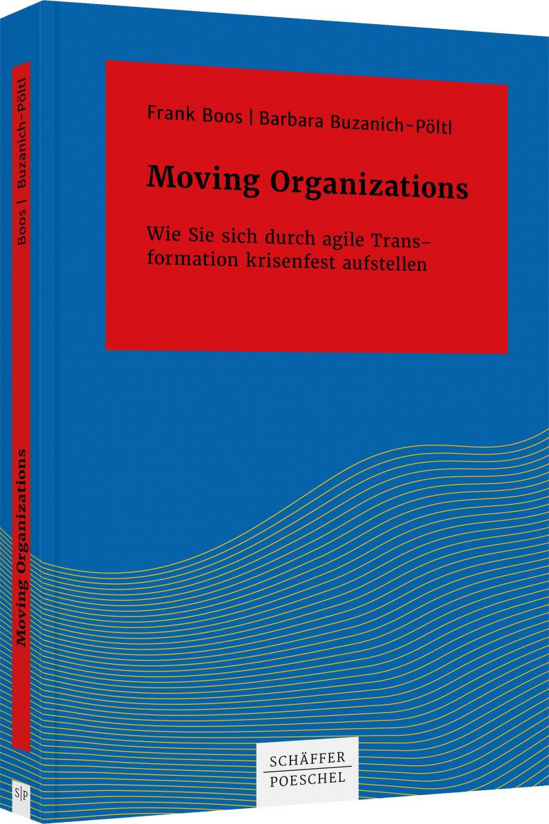 Cover des Buches Moving Organizations